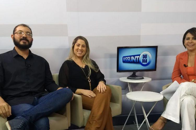Entrevista da Psicologa Yvinne Santana para a TV ALESE